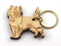 Cairnterrier Nyckelring