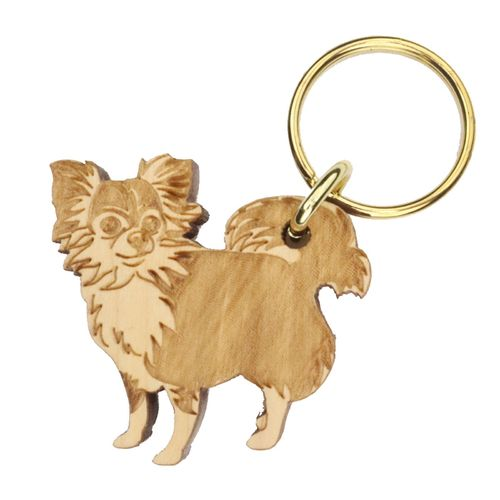 Chihuahua long-haired Keyring