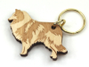 Collie long-haired Keyring