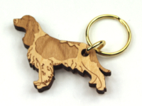 English Springer Spaniel Keyring