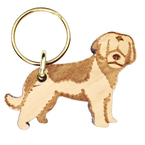 Spanish Waterdog Keyring