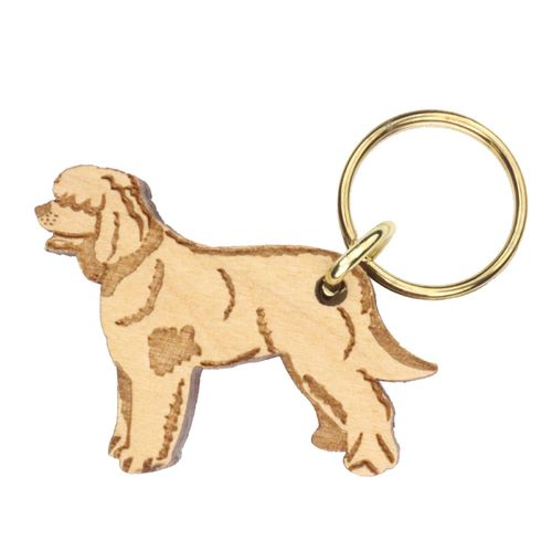 Irish Water Spaniel Keyring