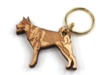 Swedish Elkhound Keyring